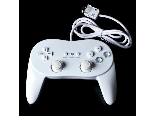 White Classic Pro Controller For Nintendo Wii Remote Wireless joypad gamepad NEW