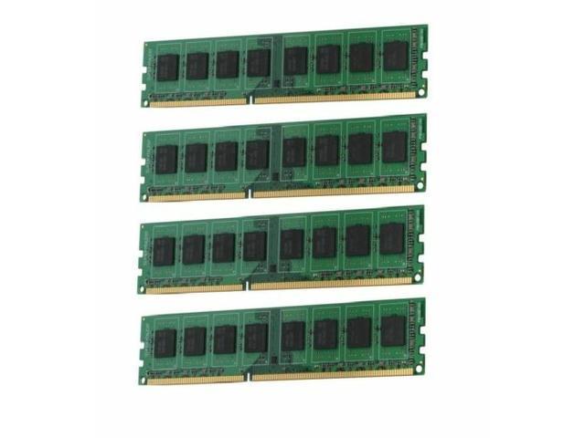 NEW 16GB (4x4GB) DDR3-1333MHz ECC PC3-10600 Unbuffered 240PIN SERVER RAM Memory NOT FOR PC/MAC!