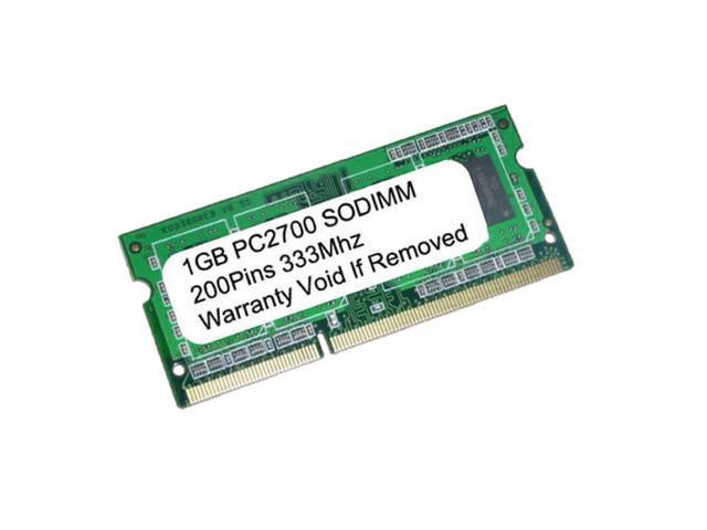 1GB PC2700 DDR-333MHz 200pin SODIMM UnBuffered LAPTOP MEMORY NEW