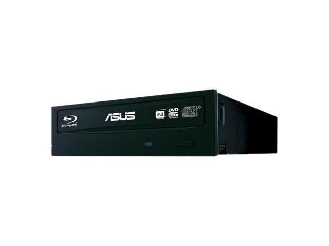 New Asus BW-12B1ST/BLK/G/AS Internal 12x Blu-Ray Burner - BD-R 12x, BD-R DL 8x, BD-R 8 MB Cache SATA