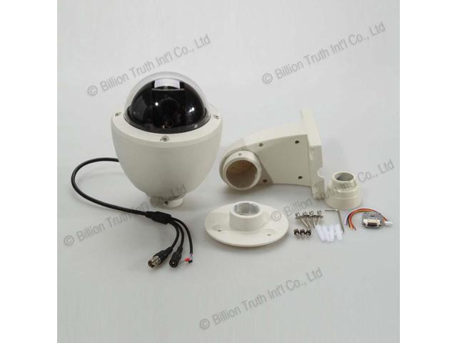1/3 Sony CCD 700TVL 5-60mm Zoom Lens Constant Speed PTZ Dome Security Camera