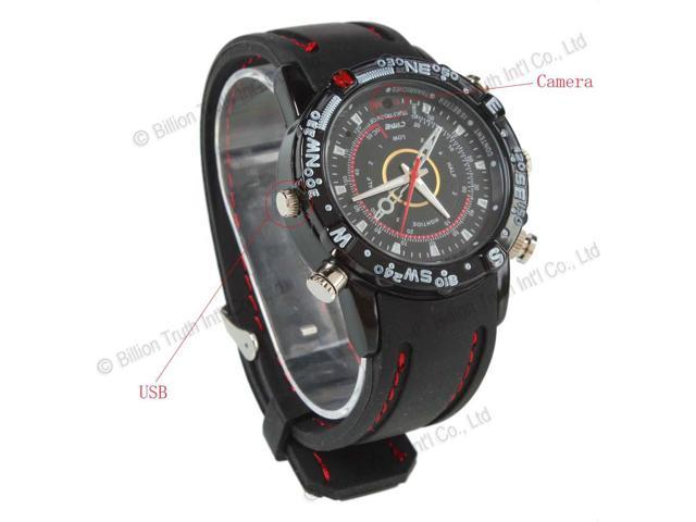8GB HDWatch Camera DVR DV Digital Video Camera Waterproof Cam Video Recorder