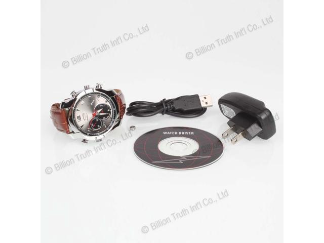 16GB HD IR Night Vision Watch Camera Video Recorder DVR Cam 1920 x 1080
