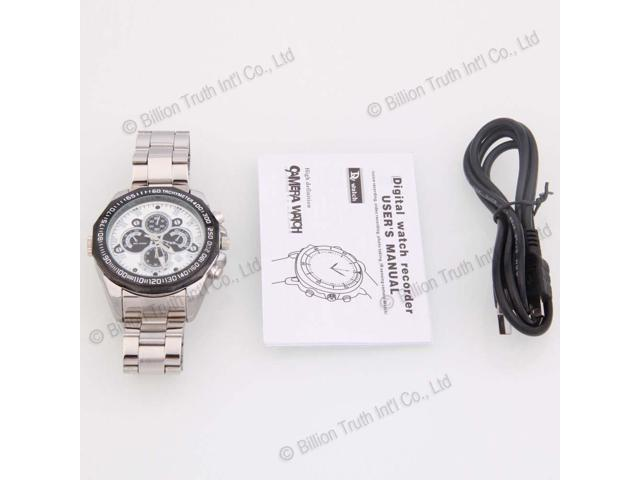HD Camcorder IR Watch Video Recorder DVR Night Vision Digital Video Cam Recorder