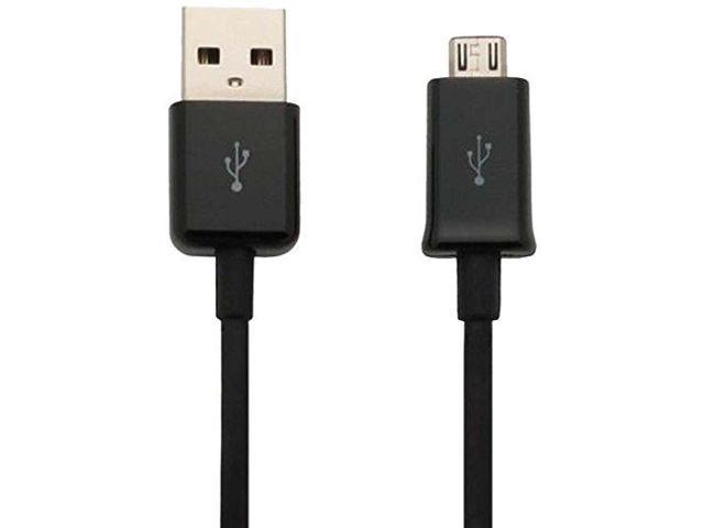 Samsung ECC1DU6BBE Micro-USB Data Cable - 5 feet (2 Pack)