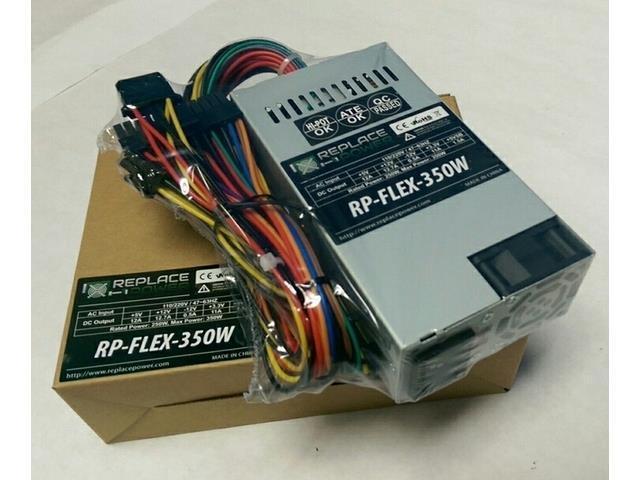 New for HP Pavilion Slimline s3620f s3713w s3720f s3750f s3816f Flex ATX 350W Replace Power Supply