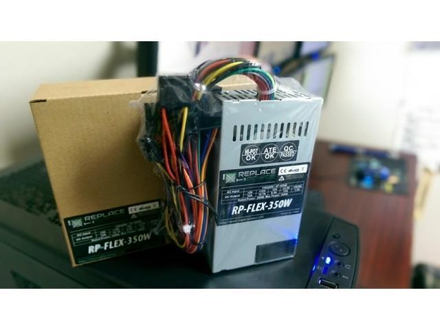 New 350W Flex ATX Replacement Power Supply for HP Pavilion Slimline s3242x s3300f s3301f s3307 s3600f