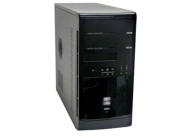 Black Ark Technology Wn-32 V Glassy Black Coating Front uATX Mini Tower Case