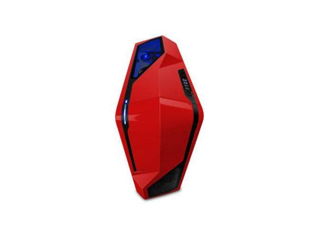 NZXT PHANTOM 410 No Power Supply ATX Mid Tower Case (Red)