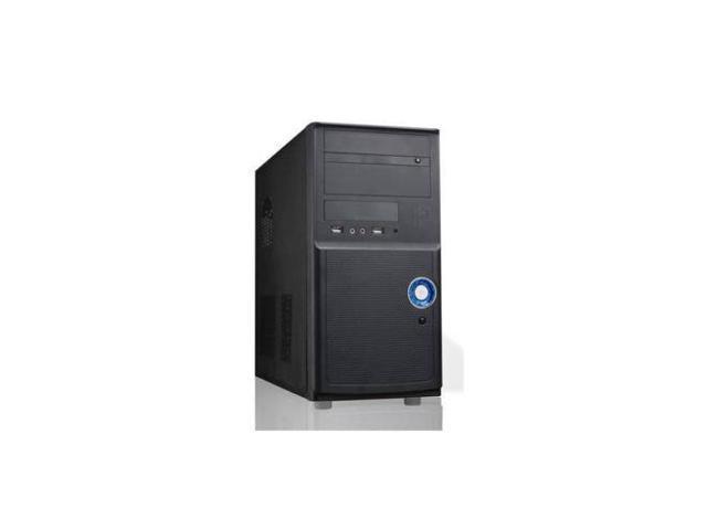 Newest iMicro CA-IM1205B 400W 20+4pin MicroATX Mini Tower Case (Black)