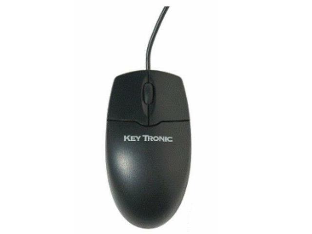 New Keytronic 2MOUSEU2L USB Optical Scroll Wheel Mouse