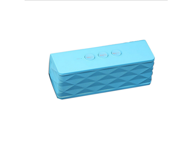 NEK Tech Portable Wireless Speaker with Built in Speakerphone, Powerful Sound for Smart Phones - Blue