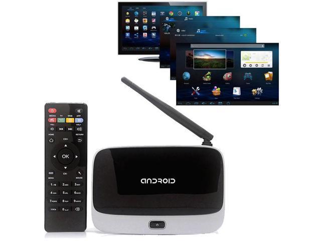 CS918 Quad Core Android 4.4 Smart TV Box XBMC WiFi Full 1080P Media Player 8G