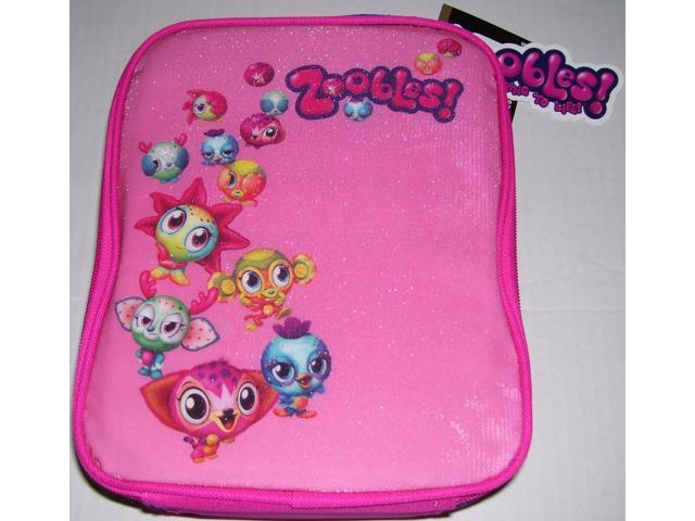 Zoobles Lunch Kit - Pink and Purple