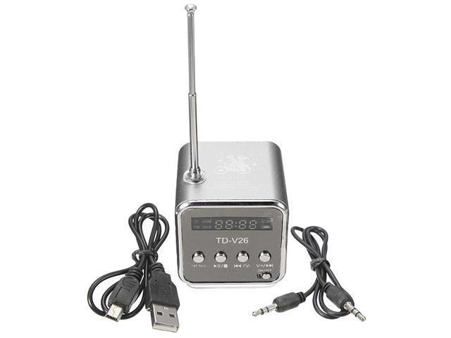 Mini Micro SD TF USB Stereo Cute Speaker Portable FM Radio for PC Laptop Smartphone iPhone 6 5 MP3