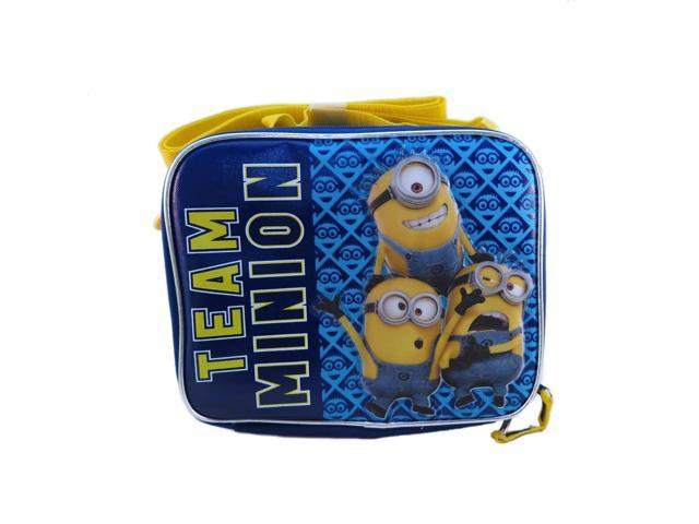 Lunch Bag - Disney - Despicable Me Team Minion Kit Case New 099811