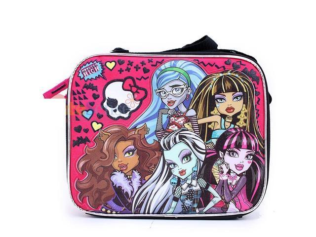 Lunch Bag - Monster High - Silver Castle Girls New Licensed 097923
