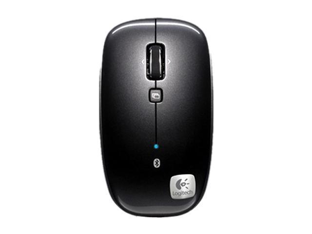 Logitech M555b Black 3 Buttons Tilt Wheel Bluetooth Wireless Laser Mouse