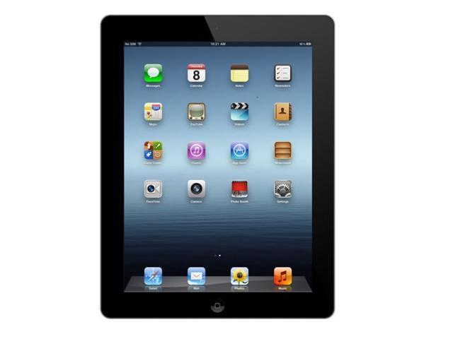 Apple iPad 3 MD416LL/A Tablet 16GB WiFi + 4G AT&T 3rd Generation Black