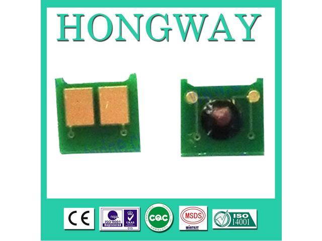 Hongway compatible hp CP5225 5225N, CMYK 7.3K/7K ce740a toner chip reset For HP laser toner cartridge