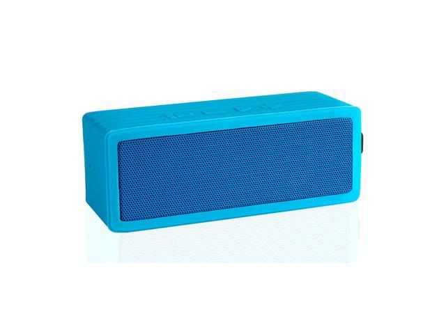 VANTRUE N13 Portable Rugged Water Resistant Wireless Bluetooth Speaker with Microphone, SOS Laser Light, Blue