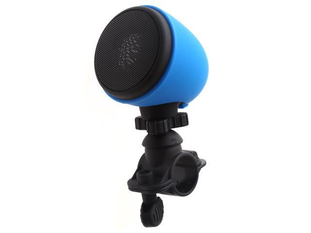 VANTRUE® Waterproof Bluetooth Speakers Bike Mount Outdoor Wireless Bluetooth Speaker with Microphone and Mount, for Apple & Android Smartphones, Blue