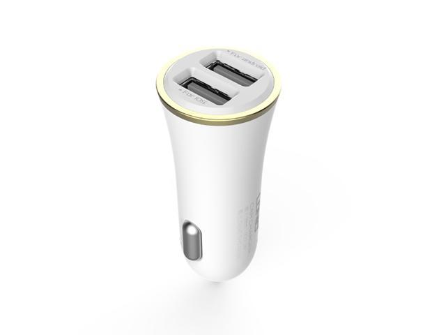 VANTRUE LDNIO Dual USB 3.4A (17W) Car Charger for Apple Devices, Samsung Galaxy S5, Samsung Galaxy Note 4/3/II, HTC