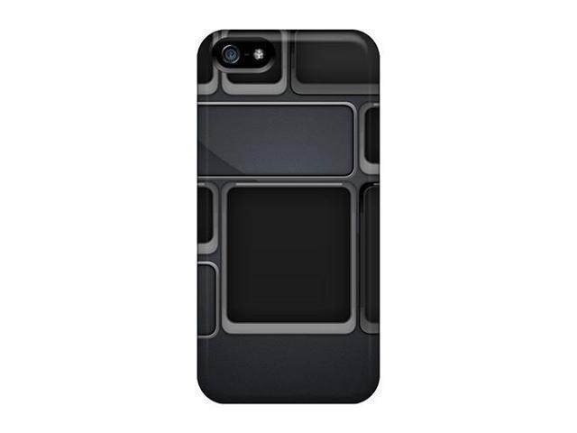 [gMi14177Skpf] - New Black Hd Protective Iphone 5/5s Classic Hardshell Cases
