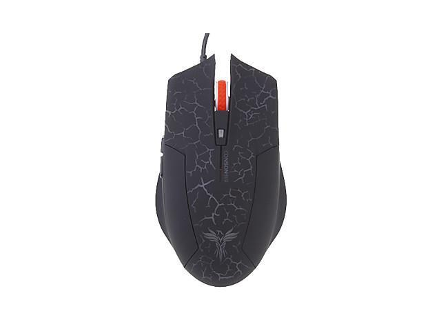 CM-610U High-Definition Optical Ergonomic Design Wired Mouse