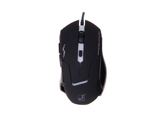 THE SPOTLIGHT LEOPARD Game USB Wired Optical Mouse
