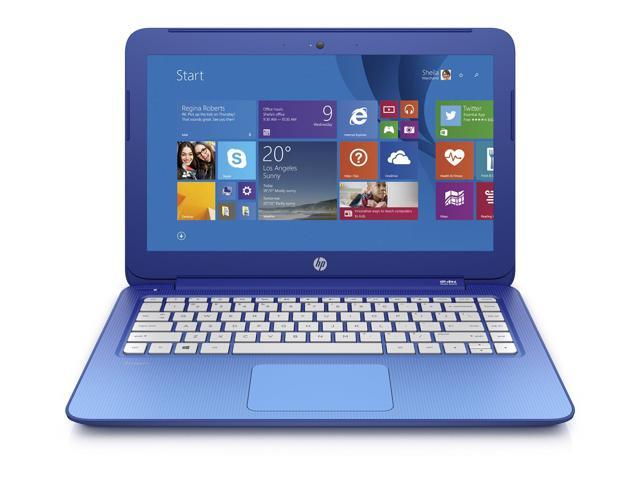 HP Stream 13 Laptop Includes Office 365 Personal for One Year (Horizon Blue) Intel Celeron N2840 Processor/ 13.3-Inch Screen, Intel HD graphics/ ...