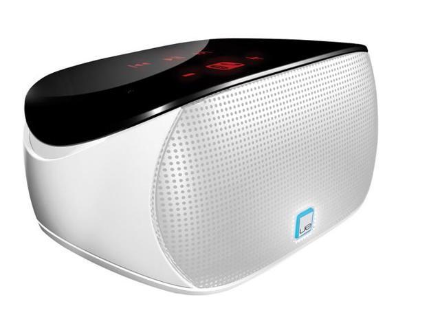 Logitech Mini Boombox speaker for Smartphones, Tablets, and Laptops (white)