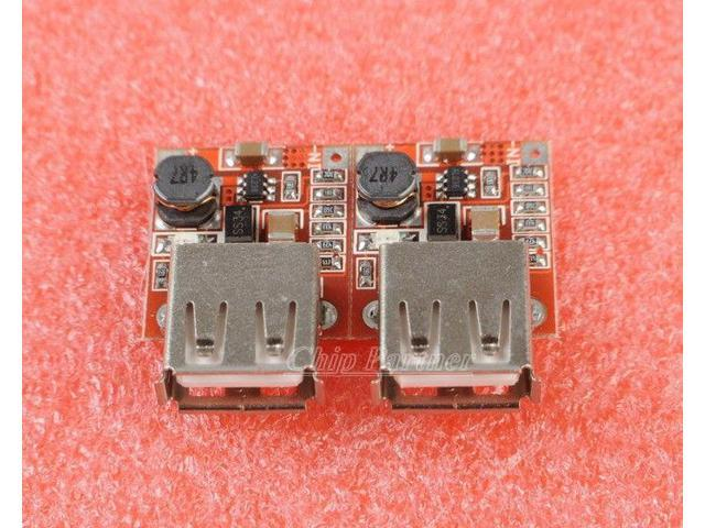 2pcs DC-DC Converter Step Up Module 3V to 5V 1A USB Charger for MP3/MP4 iPhone