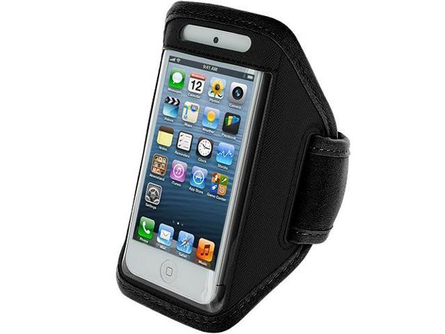 Black Running Sports Gym Armband for Apple iPhone 5 / 5S