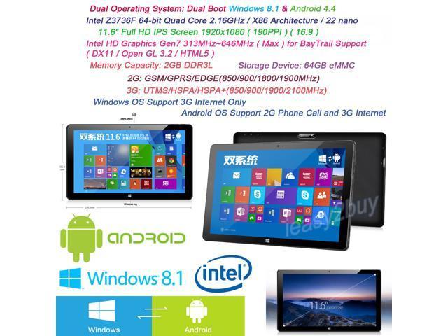 New Onda Tablet PC 3G Phone Calls 11.6
