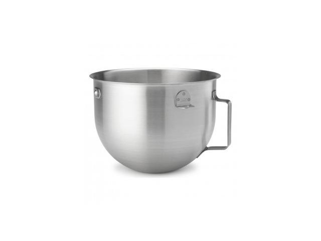 KitchenAid KN25NSF 5-Quart Stainless-Steel Commercial Mixing Bowl with Handle