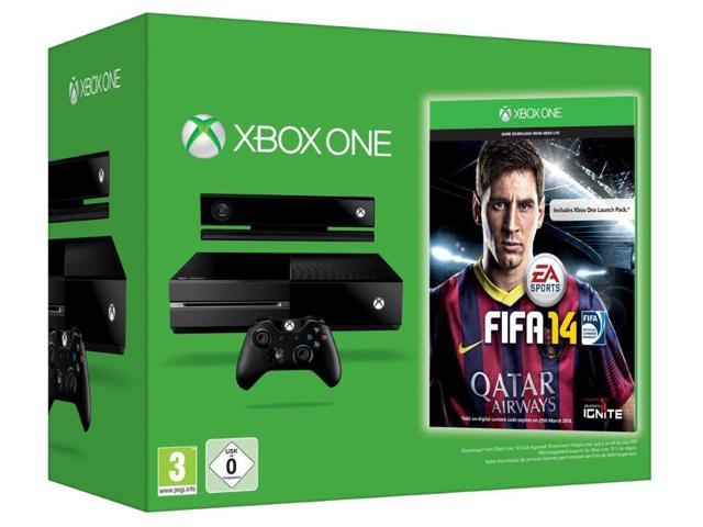 Xbox One Console - FIFA 14 Special Edition Bundle