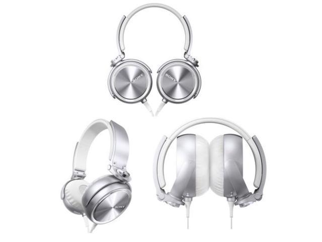 Sony MDR-XB610/W Extra Bass (XB) Headphones MDRXB610 White /GENUINE