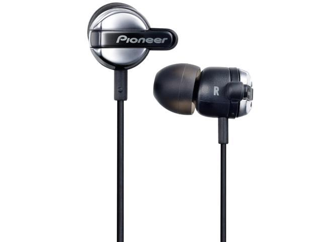 Pioneer SE-CL531-K Fully Enclosed Dynamic Inner-Ear Headphones SECL531 Black