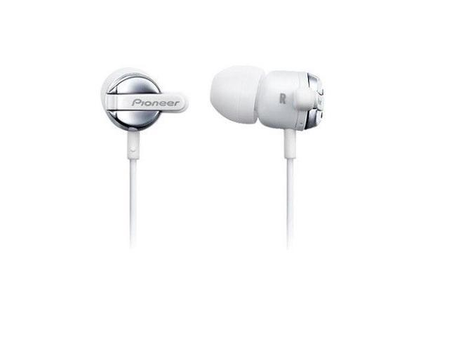 Pioneer SE-CL531-W Fully Enclosed Dynamic Inner-Ear Headphones SECL531 White