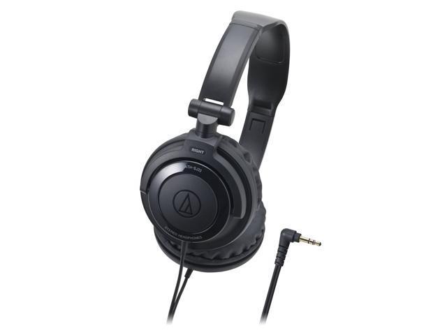 Audio Technica ATH-SJ33BK Black DJ Style Portable Headphones ATHSJ33 /GENUINE