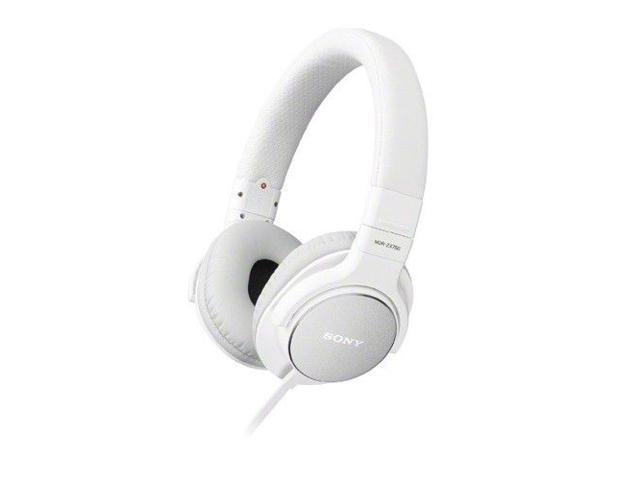 SONY MDR-ZX750/W Headphones Stereo Sound Monitoring Headphones MDRZX750 White