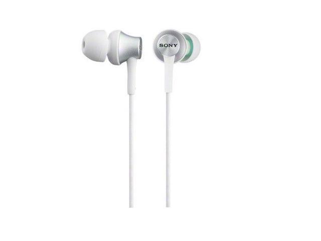 SONY MDR-EX450/W EX Monitor Headphones MDREX450 White /GENUINE