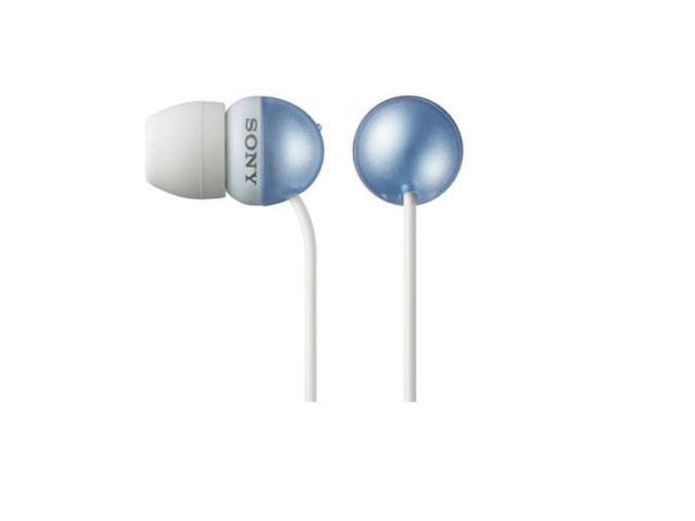 Sony MDR-EX33LP/L In-Ear Headphones powerful bass MDREX33LP Blue /GENUINE