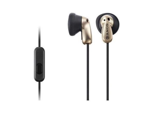 SONY MDR-E8AP/N In-Ear Headphones Fontopia For Smartphone MDRE8AP Glod /GENUINE