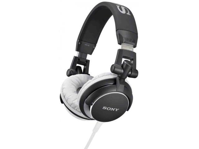 Sony MDR-V55/B Digital DJ Style Foldable Headphones MDRV55 Black /GENUINE