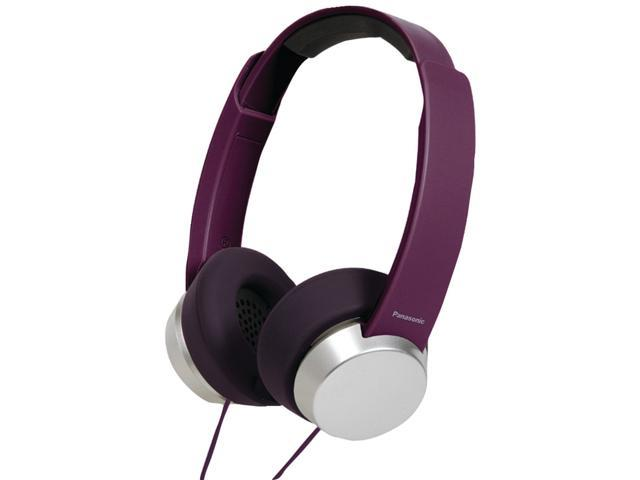 Panasonic RP-HXD3WV Monitor Headphones w/Mic & Remote RPHXD3W Violet /GENUINE