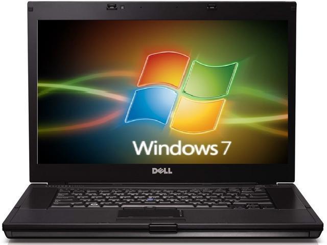 Dell latitude e6510 laptop computer, intel core i7, q720 1.6ghz, 6gb ram, 320gb hard drive, dvdrw, windows 7 pro 64bit, nvadia nvs 3100m, display ...