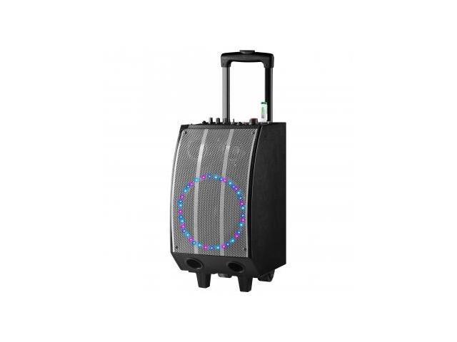 QFX Battery Powered Bluetooth PA Speaker- SLV