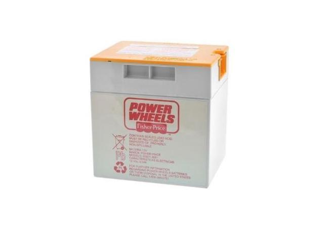 Power Wheels Orange Top Rechargeable Battery for Fisher Price Ride on Toys